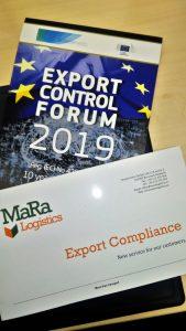 Export Control Forum - Ma.Ra Logistics Quality 2019