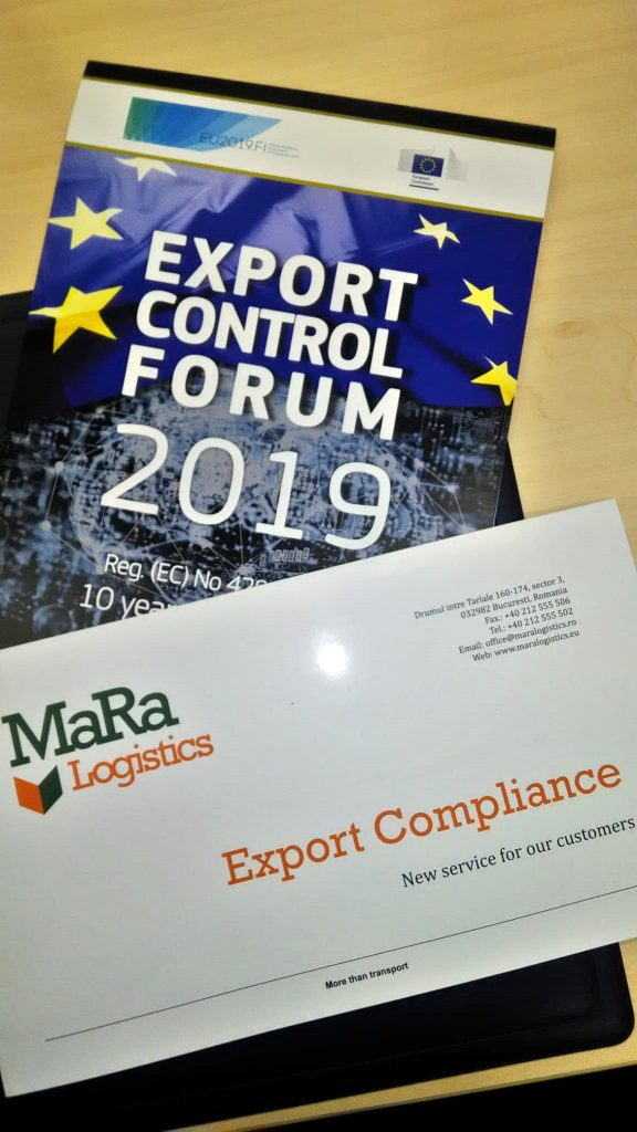 Export Control Forum 2019 - Comisia Europeana