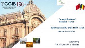 Forumul de Afaceri Romano - Turc