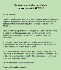 Newsletter COVID-19 RO