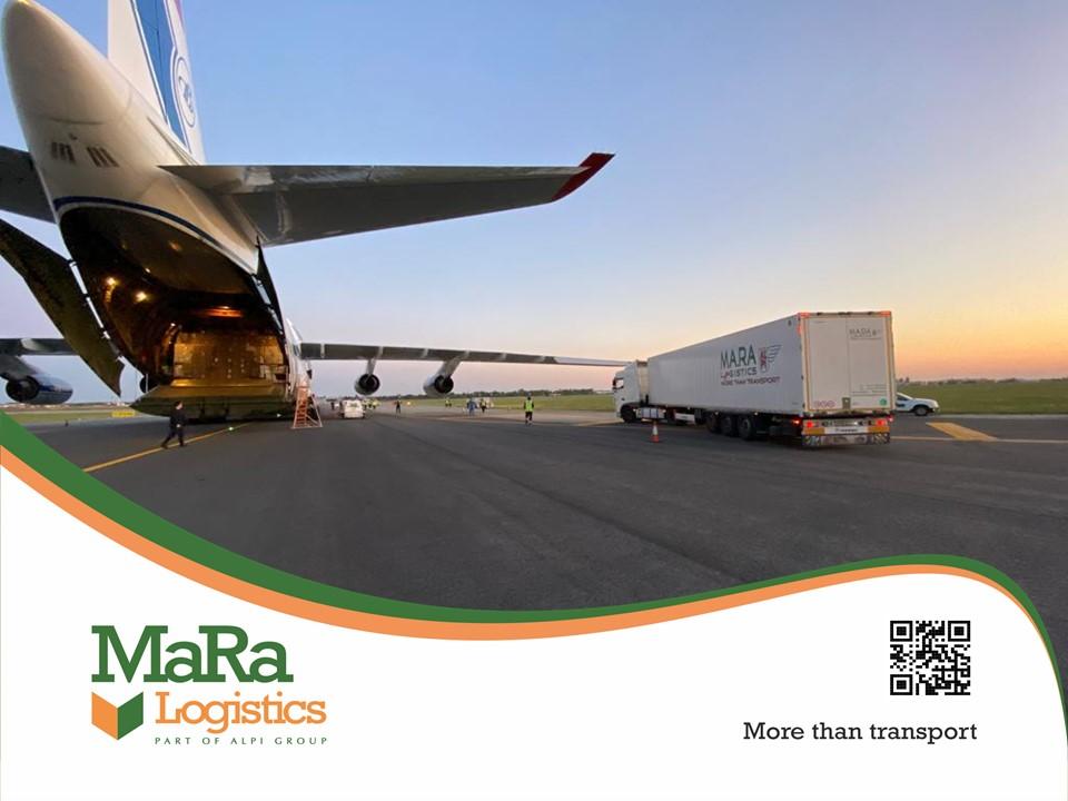 Transport echipamente medicale MaRa Logistics
