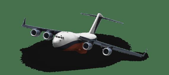 transport aerian de marfa